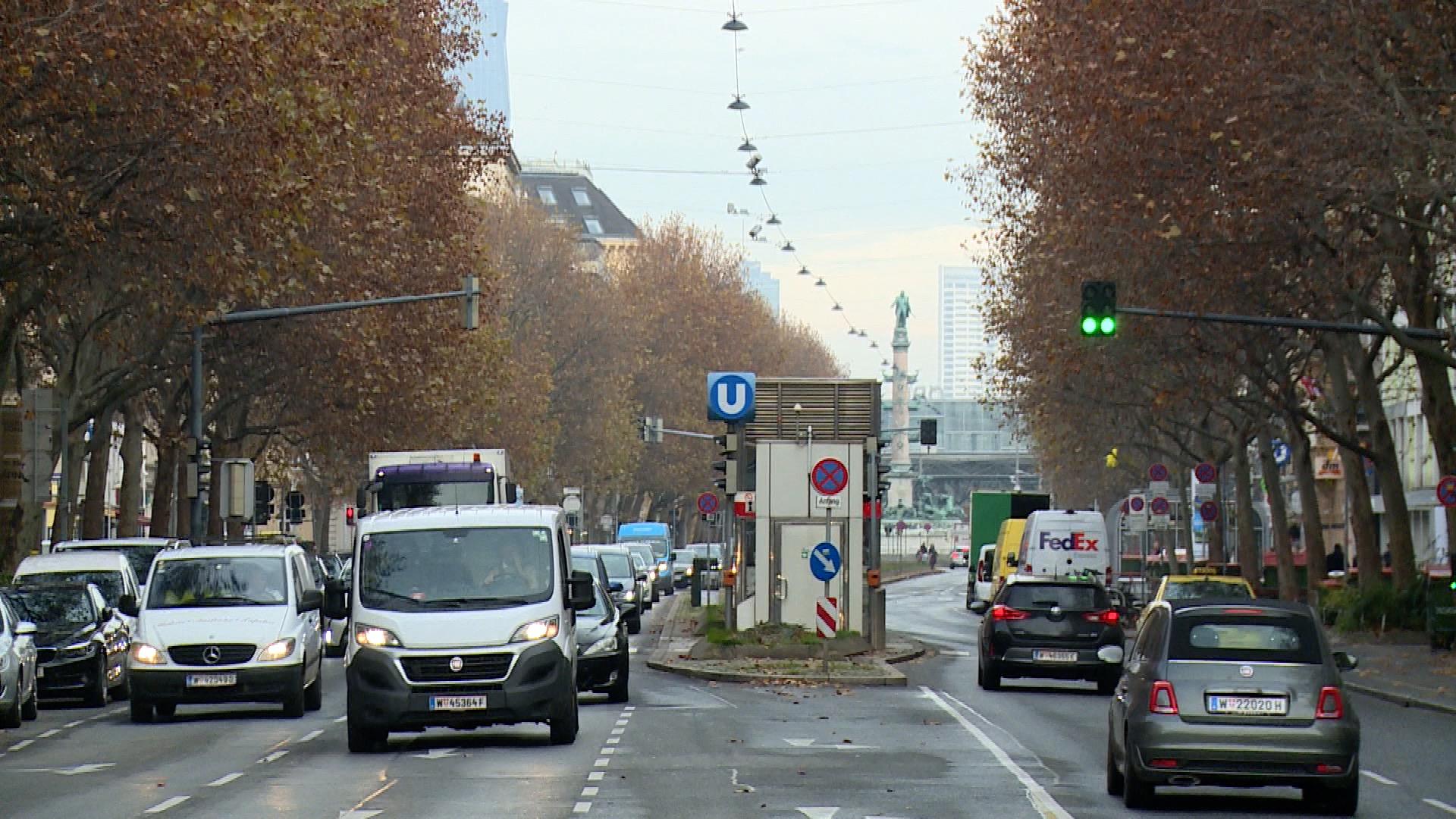 Praterstraße: Verkehrsberuhigung ist fix News W24