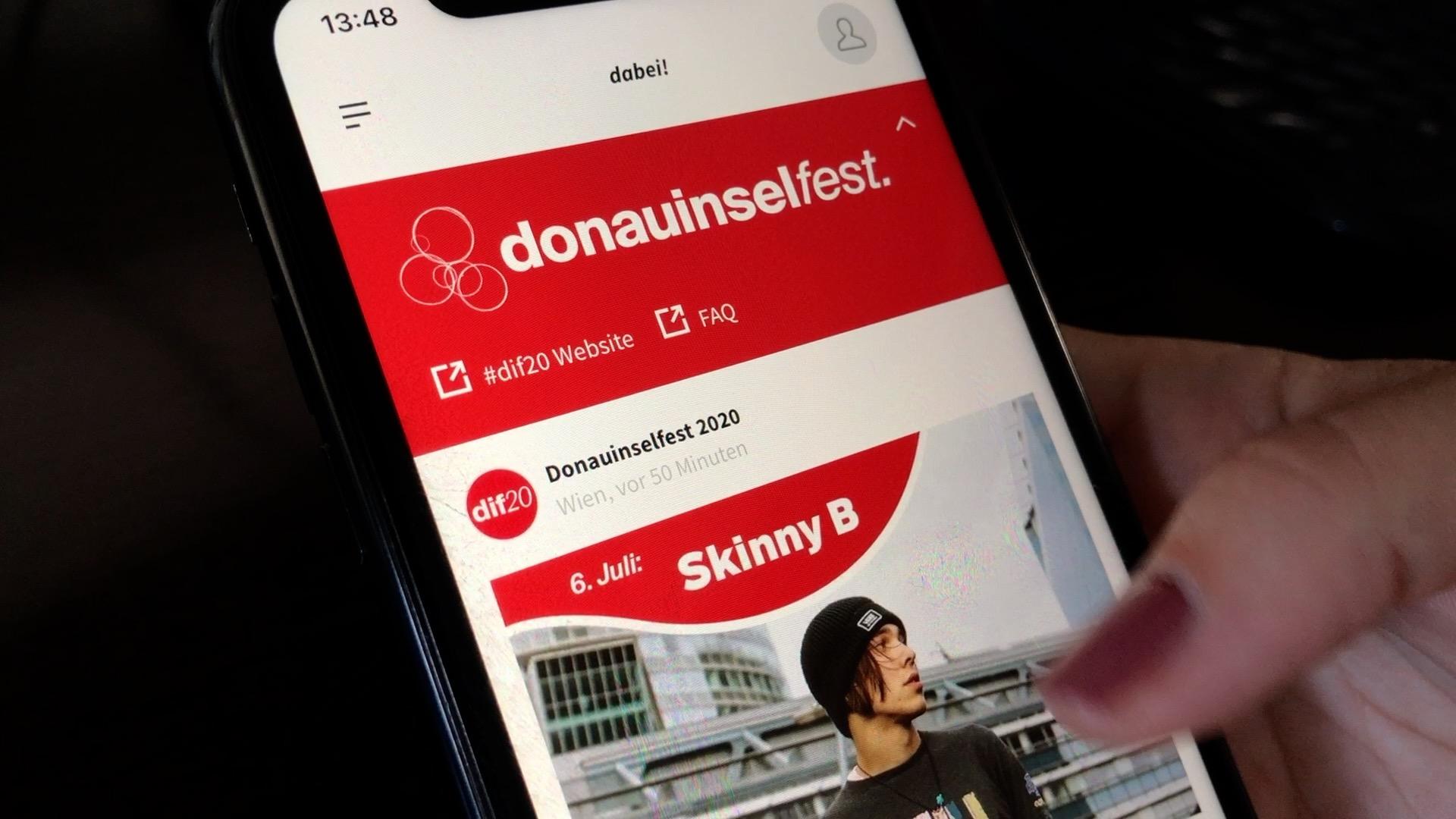 Mit Der Dabei App Zum Donauinselfest News W24